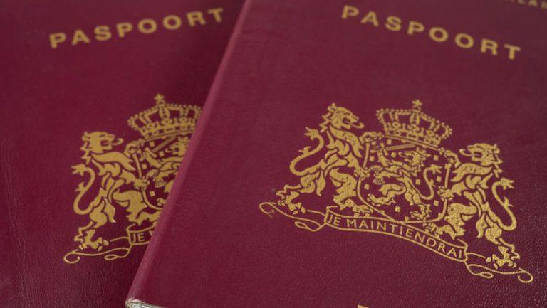 Afbeelding van een paspoort